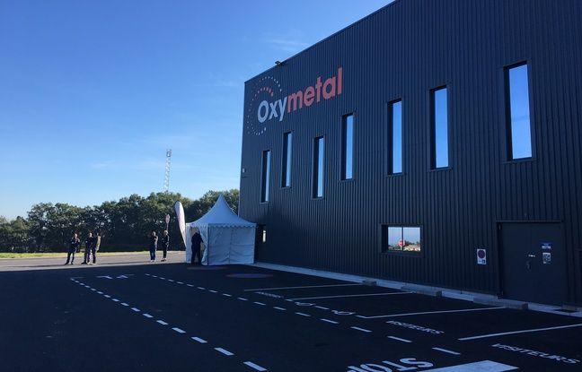 La nouvelle usine d'Oxymetal à Pompignac (Gironde), près de Bordeaux.