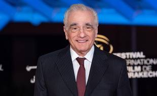 Martin Scorsese au festival de Marrakech fin 2018.