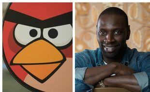 Red, oiseau d'«Angry Birds» et Omar Sy.