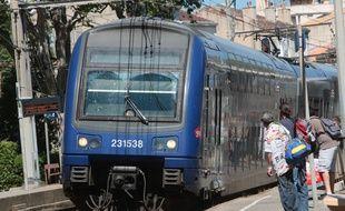 Illustration sur les trains express régionaux ( TER )