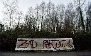 La Zad sur le site de Notre-Dame-des-Landes, le 5 janvier 2016
