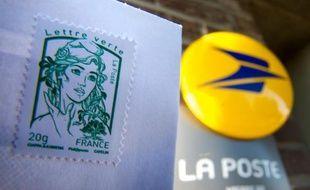 Un timbre de la Poste.