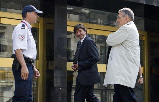 Michel Neyret, à son arrivée au conseil de discipline de la police, le 4 septembre 2012.