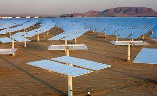 Une centrale de production d'électricité solaire, aux Etats-Unis, en 2006.
