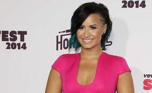 Demi Lovato en octobre 2014 à Santa Monica en Californie.