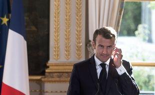 Emmanuel Macron, le 15 octobre 2018 à Paris.