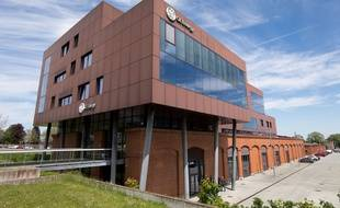 Un bâtiment de General Electric à Belfort.
