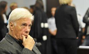 Guy Bedos le 7 septembre au tribunal de Nancy, où il comparaît pour injure publique envers Nadine Morano