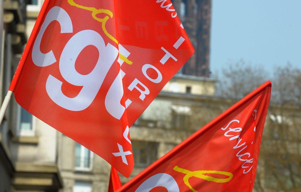 Des organisations syndicales appellent à un rassemblement devant le tribunal de Mulhouse, vendredi à 9h, en soutien d'un militant CGT arrêté lors de la venue de Manuel Valls, Emmanuel Macron et Myriam El Khomri à Mulhouse, le lundi 22 février 2016. – G .VARELA / 20 MINUTES