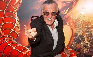 Stan Lee à la première de «Spider-man 2» en 2004.