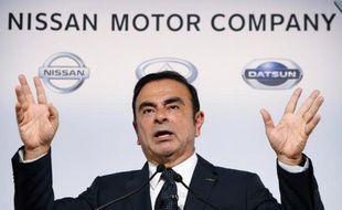 """Le PDG de Renault-Nissan, Carlos Ghosn, a affirmé lundi à l'AFP au Japon que le groupe automobiles français sortirait de la crise en 2015/2016, """"et beaucoup plus fort""""."""