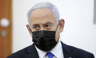 Benyamin Netanyahu, le 5 avril 2021 à Jerusalem.