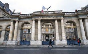La façade du Conseil d'Etat à Paris en 2014 (image d'illustration).