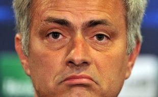 José Mourinho, l'entraîneur de Chelsea, le 17 mars 2014 à Londres.