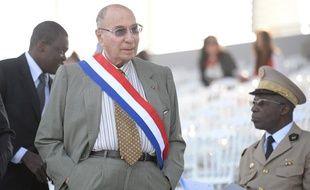 L'industriel et sénateur UMP Serge Dassault à Paris lors du défilé du 14 juillet 2013.