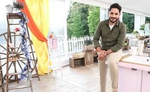 Merouan Bounekraf, à l'aise aussi bien en cuisine qu'à la télé