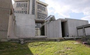 Le palais de justice de Créteil, dans le Val-de-Marne
