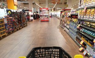 Un supermarché (illustration)