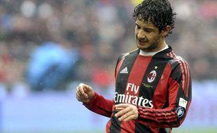 Le Milanais Alexandre Pato, le 13 mars 2011