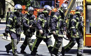 Des pompiers (illustration).