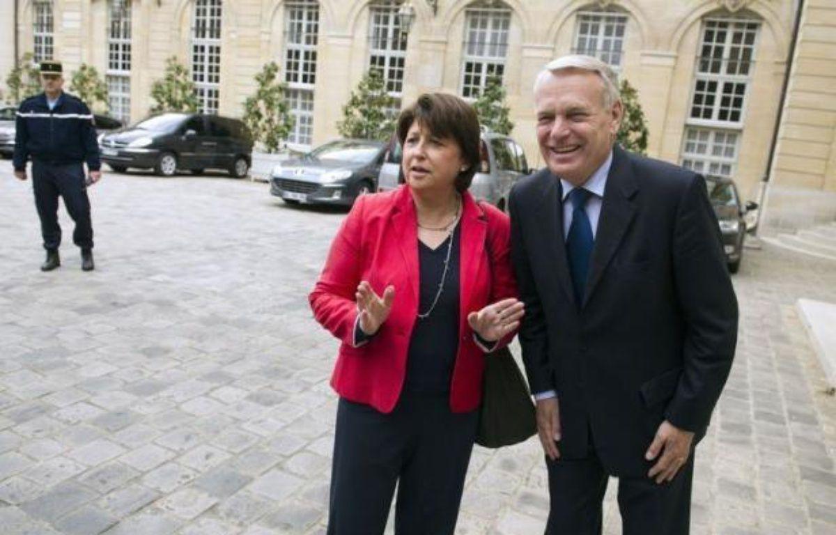 """PS et Front de gauche se sont mutuellement accusés d'être responsables de cet échec. Martine Aubry a """"regretté"""" l'absence d'accord, le PCF y a vu """"un très mauvais signe pour le rassemblement nécessaire à gauche"""". Jean-Michel Baylet (PRG) a dénoncé """"l'attitude hégémonique"""" du PS. – Lionel Bonaventure afp.com"""