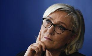 Marine Le Pen en Italie, le 8 octobre 2018.
