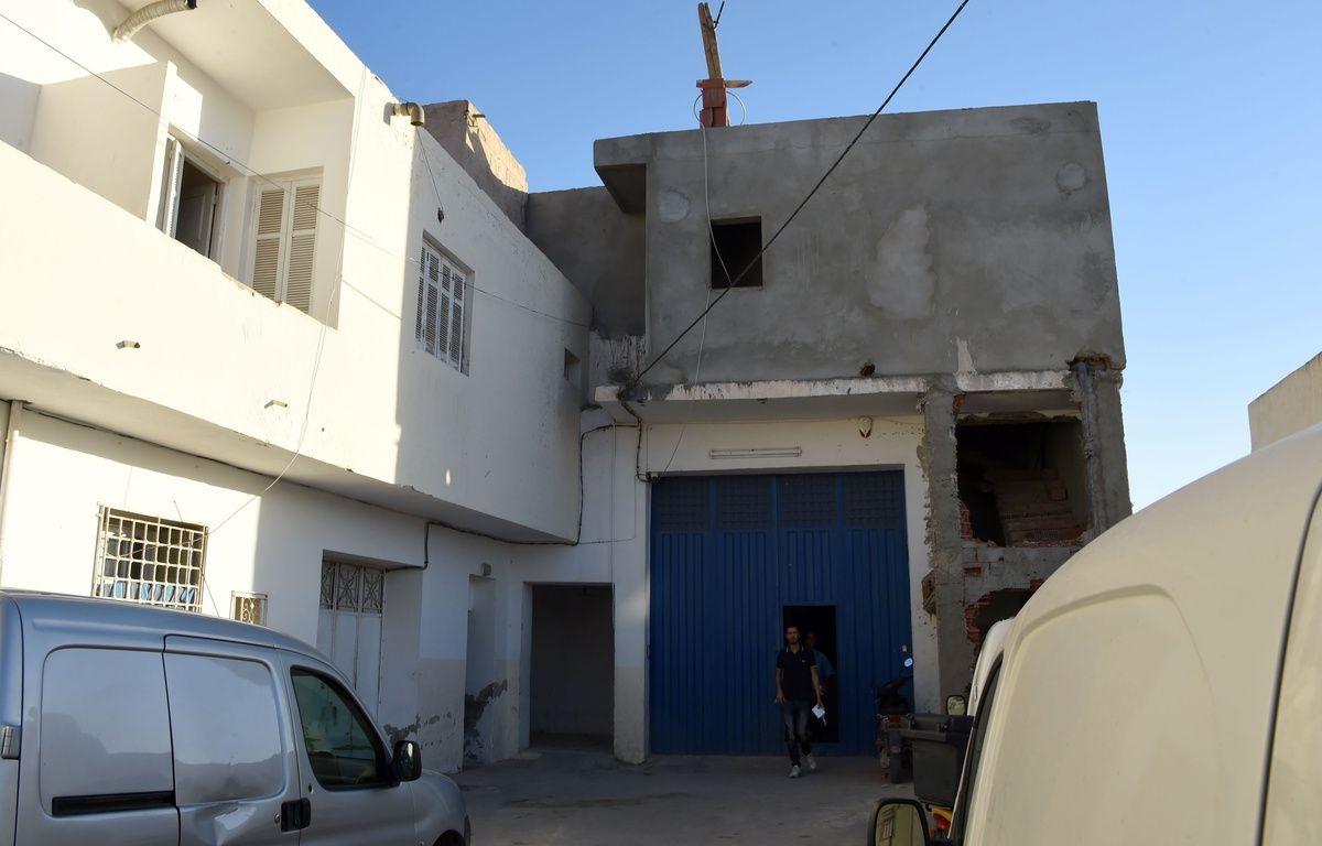 La maison familiale de Mohamed Lahouaiej Bouhlel, à Msaken en Tunisie, le 15 juillet 2016. – AFP