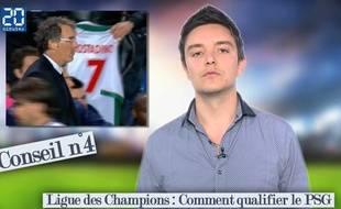 Nos conseils à Laurent Blanc avant le 8e de finale retour de Ligue des champions entre le PSG et Chelsea.