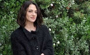 Asia Argento, en Italie le 22 mars 2017