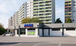Un magasin Aldi à Berlin. (Photo d'illustration)