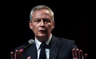 Le ministre de l'Economie, Bruno Le Maire, le 9 novembre 2017 à Lyon.