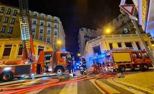 L'incendie a mobilisé une trentaine de pompiers rue Paganini