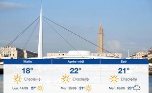 Météo Le Havre: Prévisions du dimanche 13 septembre 2020