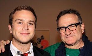 Zachary Williams et son père en 2008.