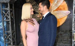 La chanteuse Katy Perry et l'acteur Orlando Bloom