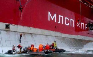 Quatre militants de Greenpeace ont été arrêtés mercredi lors d'une action de protestation sur une plateforme du géant russe Gazprom dans l'Arctique pour dénoncer ses projets de forage pétroliers dans cette région aux réserves très convoitées, a annoncé l'ONG.