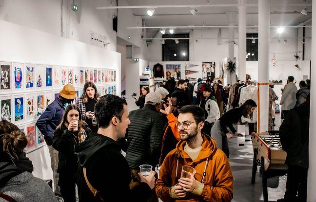 Marseille: Le «Hall», nouveau lieu de convergence des cultures urbaines, s'installe aux Docks