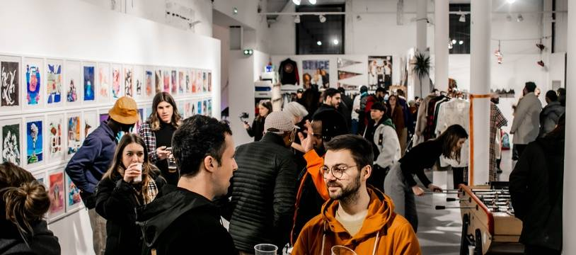 Le Hall, nouveau lieu de convergence des cultures urbaines à Marseille.