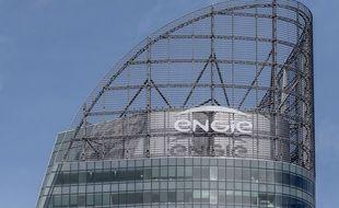 Le siège social d'Engie à la Défense à Paris, le 2 mars 2017.