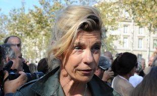 L'ex-chef de file de la Manif pour tous, Virginie Tellene, alias Frigide Barjot, le 28 septembre 2014 à Paris