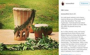 Ses proches ont confirmé le décès de Keo Woolford sur son compte Instagram