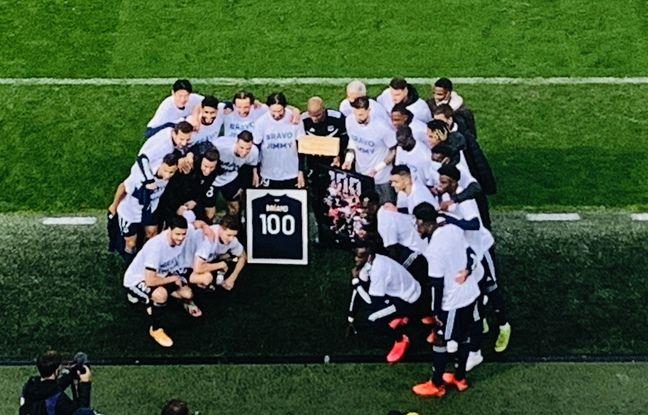 Les Bordelais ont fêté le 100e but de Jimmy Briand en Ligue 1.