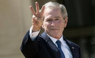 George W. Bush, le 25 avril à Dallas.