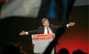 Jean-Luc Mélenchon a réuni plus de 5 000 militants samedi soir au Zénith.