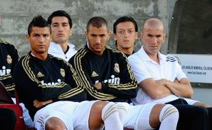 Cristiano Ronaldo et Benzema