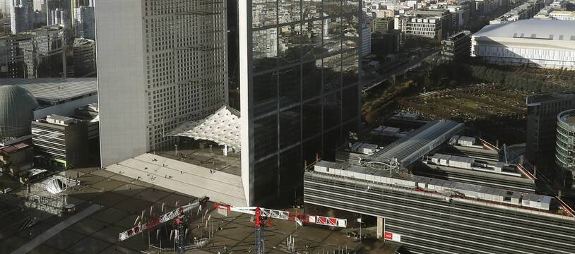 Le quartier des affaires de La Défense, à Paris.