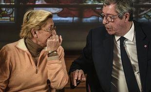 Le couple Balkany, au premier jour de leur procès en appel