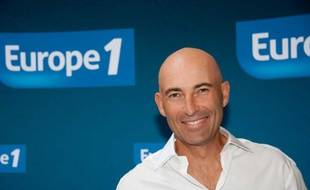 Nicolas Canteloup lors de la conférence de presse de rentrée d'Europe 1 à Paris, le 29 août 2011
