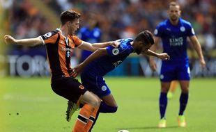 Leicester a subi face au promu Hull City, le 13 août 2016.