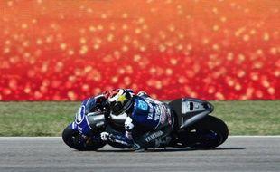 L'Espagnol Jorge Lorenzo (Yamaha) a signé un nouveau succès au Grand Prix de Saint Marin dimanche tandis que Valentino Rossi, deuxième, a obtenu son meilleur résultat au guidon d'une Ducati après deux années difficiles